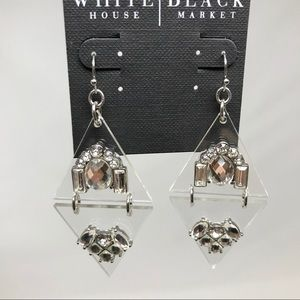 WHITE HOUSE BLACK MARKET EARRINGS